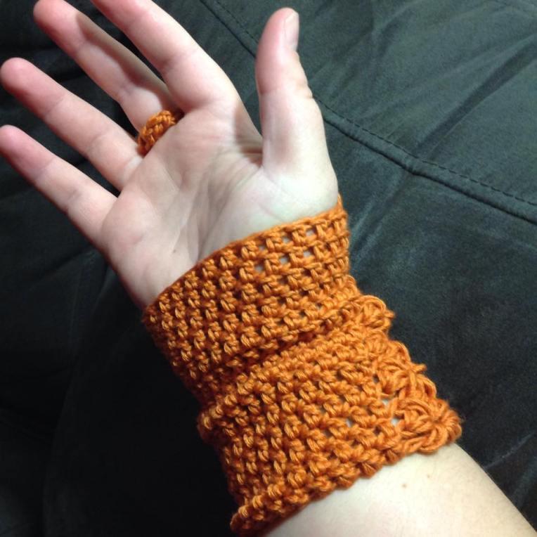 Orange Gloves 3