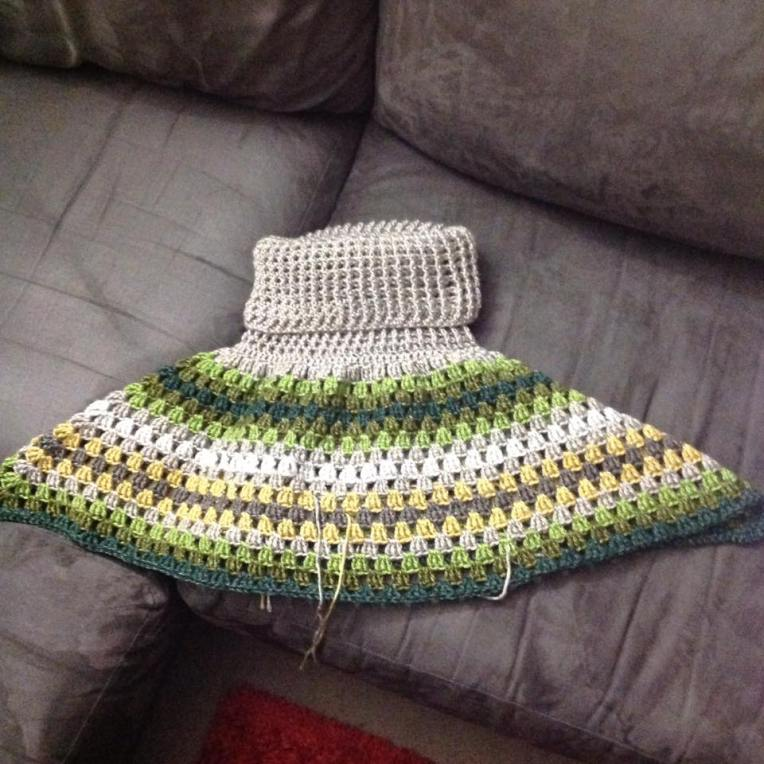 Poncho progress 3